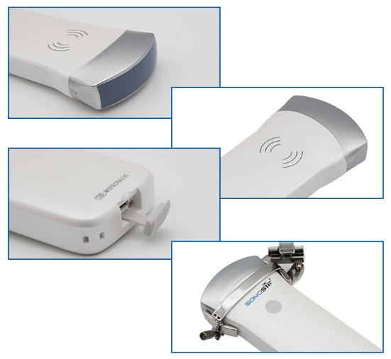 Wireless Convex Ultrasound Scanner