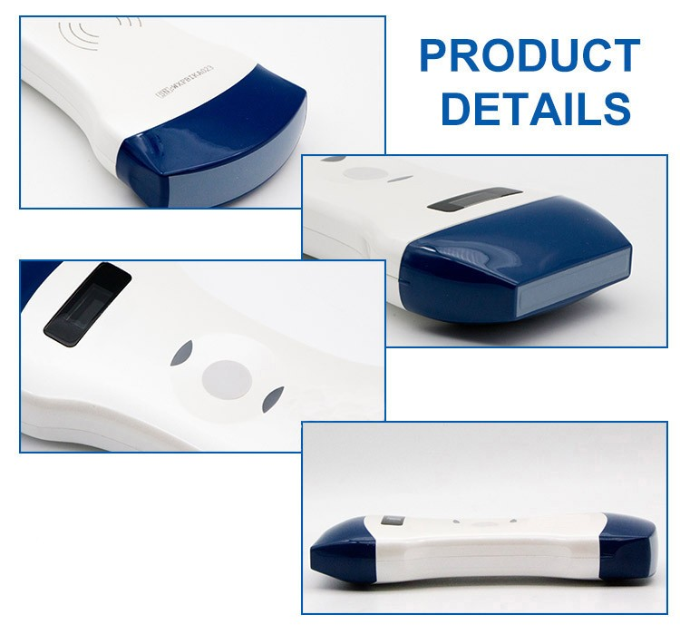 Convex and Linear Color Doppler wireless Double Head Ultrasound Scanner