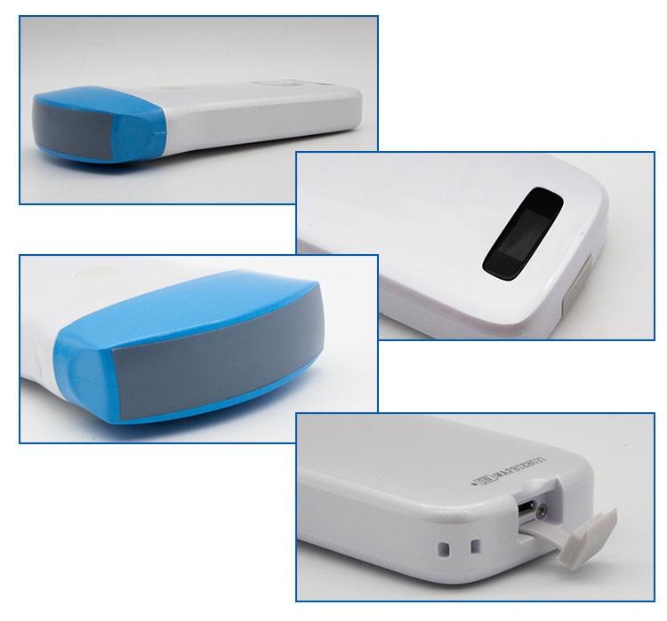 Convex Wireless Ultrasound Scanner