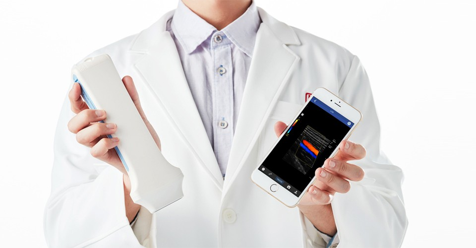 Wireless Color Doppler Linear handheld Ultrasound