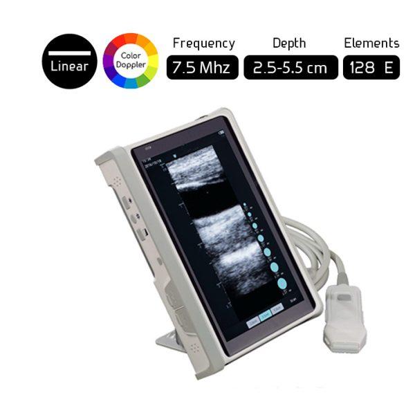 Máy quét siêu âm tuyến tính cầm tay cho bác sĩ phẫu thuật mạch máu L8CD